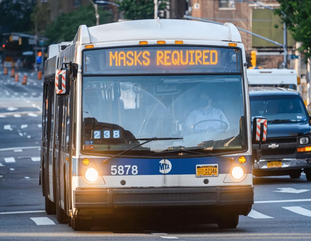 "CDC issues federal mask mandate ""enforceable through criminal penalties"" on all public transportation"
