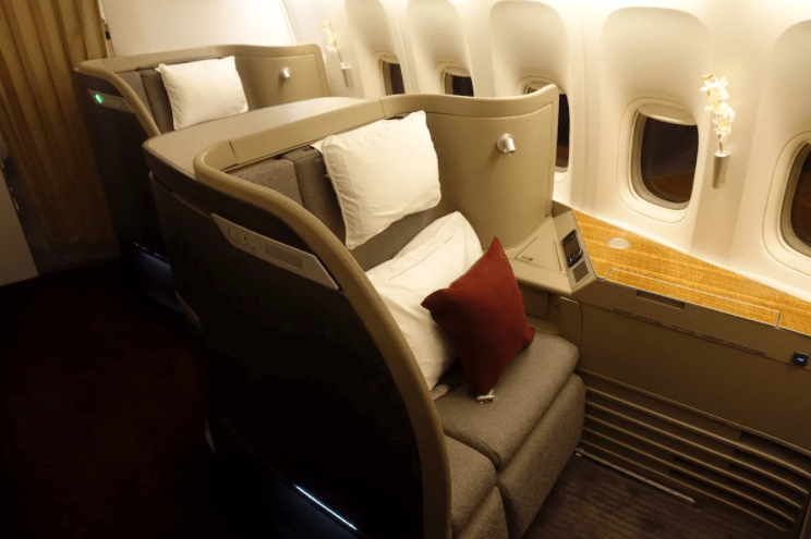 Cathay Pacific Airways implements mask exemption for first-class and business travelers